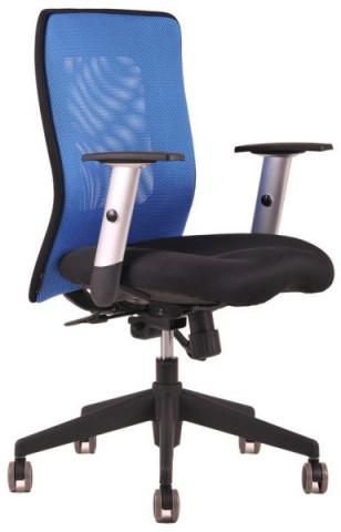 Kancelářská židle Calypso - dvoubarevná