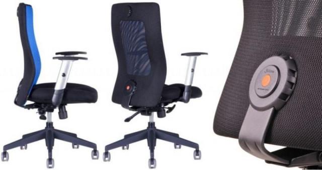 Kancelářská židle Calypso Grand - dvoubarevná