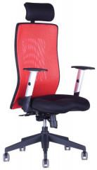 Kancelářská židle Calypso Grand s podhlavníkem - dvoubarevná