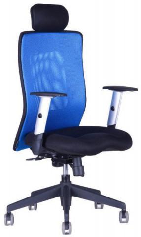 Kancelářská židle Calypso XL s fixním podhlavníkem