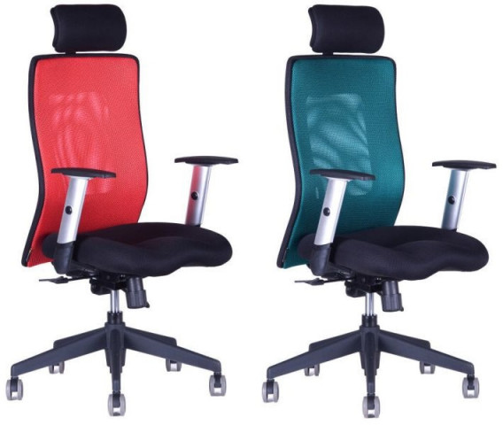 Kancelářská židle Calypso XL s podhlavníkem