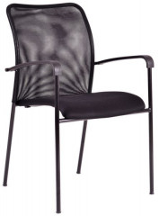 Jednací židle - TRITON BLACK - černá