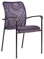 Jednací židle - TRITON BLACK - šedá