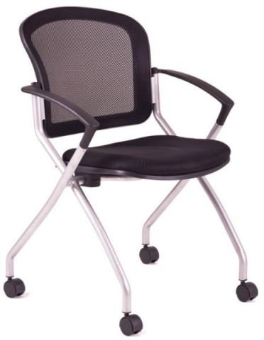 Jednací židle - METIS - Černá DK10