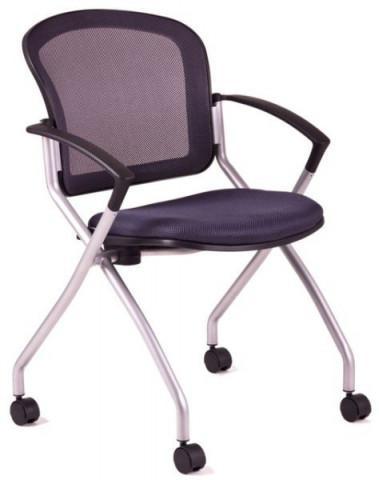 Jednací židle - METIS - Šedá DK15