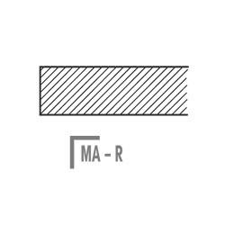 MA-R Stolová deska dřevěná - masiv buk-R