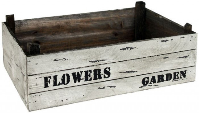 Dřevěný truhlík KOV684846