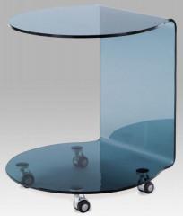 Konferenční stolek ABG-102 - BK - černé sklo
