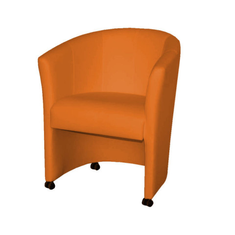 Křeslo ELIZA - oranžové