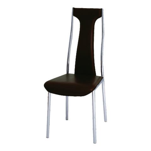 Jídelní židle RIA - IRIS - tmavě hnědá