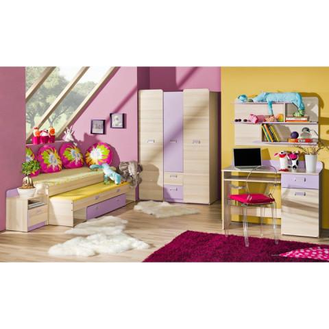 Skříň EGO L7 - fialová