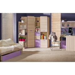 PC stolek EGO L10 - fialová