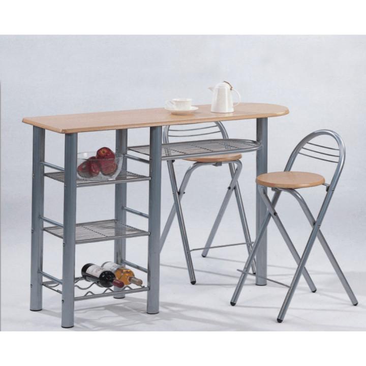 Tempo Kondela Barové židle + barový pult, BOXER + kupón KONDELA10 na okamžitou slevu 10% (kupón uplatníte v košíku)