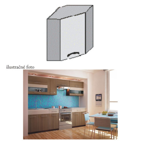 Kuchyňská skříňka JURA NEW I GN-58*58