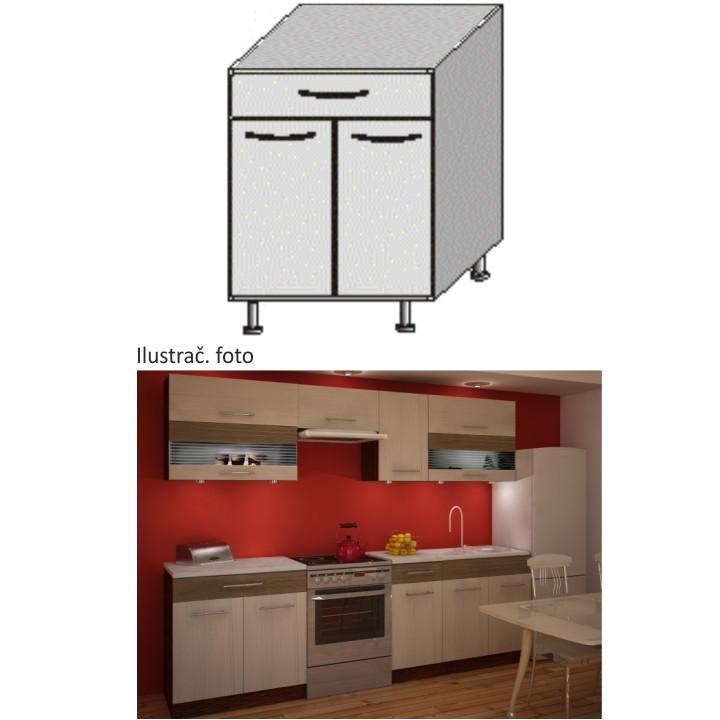 Tempo Kondela Kuchyňská skříňka JURA NEW IA D-80 S1 + kupón KONDELA10 na okamžitou slevu 3% (kupón uplatníte v košíku)
