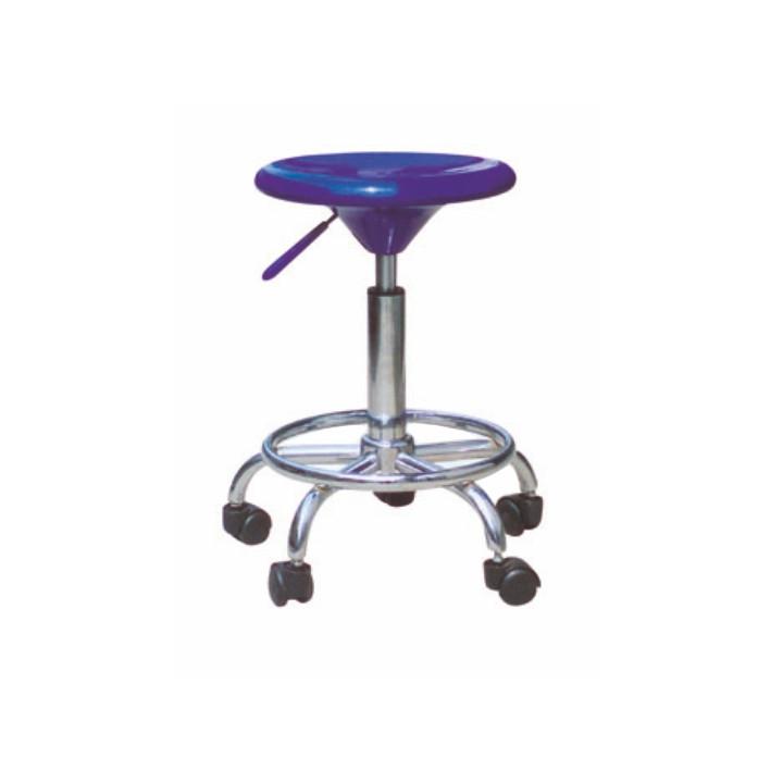Tempo Kondela Židle na kolečkách MABEL NEW - modrá