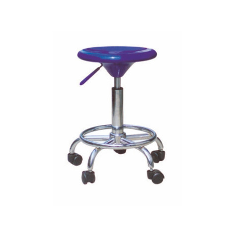 Židle na kolečkách MABEL NEW - modrá