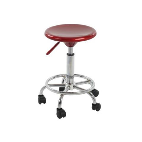Židle na kolečkách MABEL NEW - červená