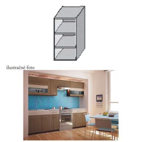 Kuchyňská skříňka JURA NEW I GO-20