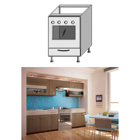 Kuchyňská skříňka JURA NEW I ZK-60