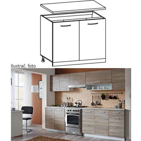 Kuchyňská skříňka CYRA NEW D-80