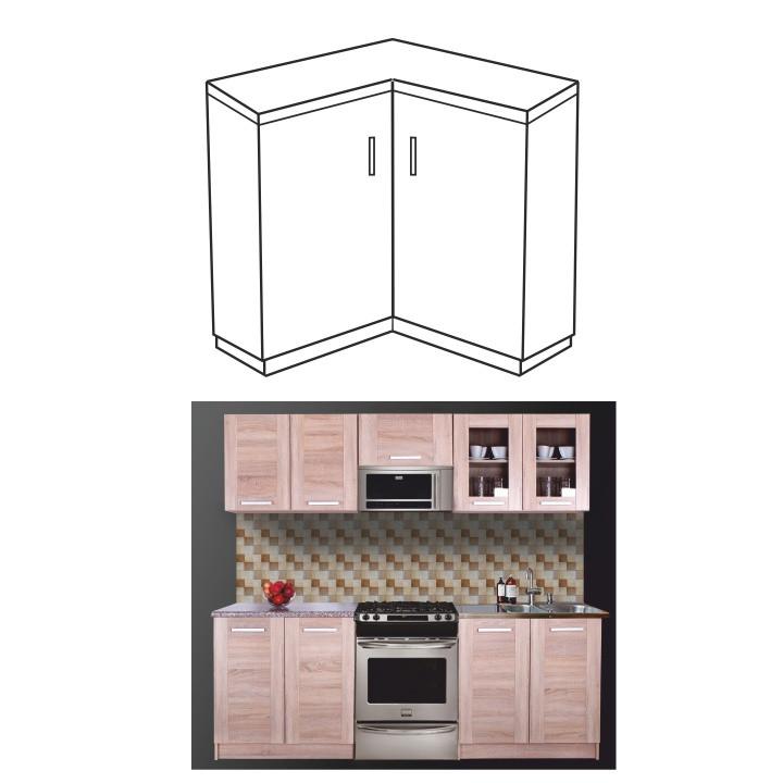 Tempo Kondela Kuchyňská skříňka NARCIS DN-86*86