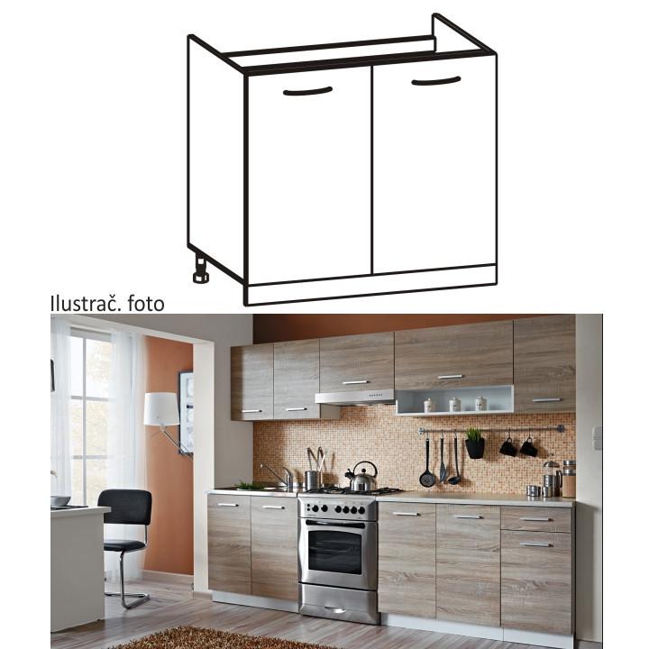 Kuchyňská skříňka CYRA NEW DZ-80