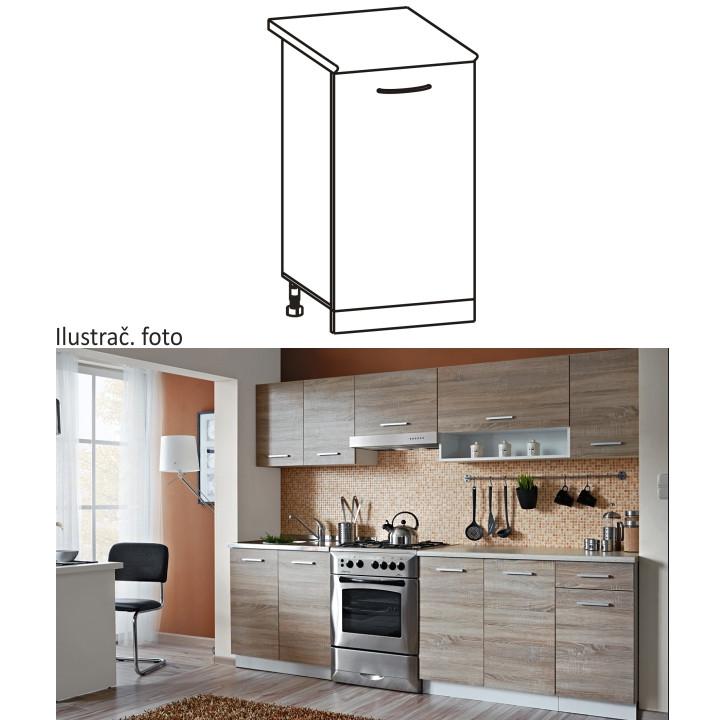 Tempo Kondela Kuchyňská skříňka CYRA NEW D-30 + kupón KONDELA10 na okamžitou slevu 10% (kupón uplatníte v košíku)