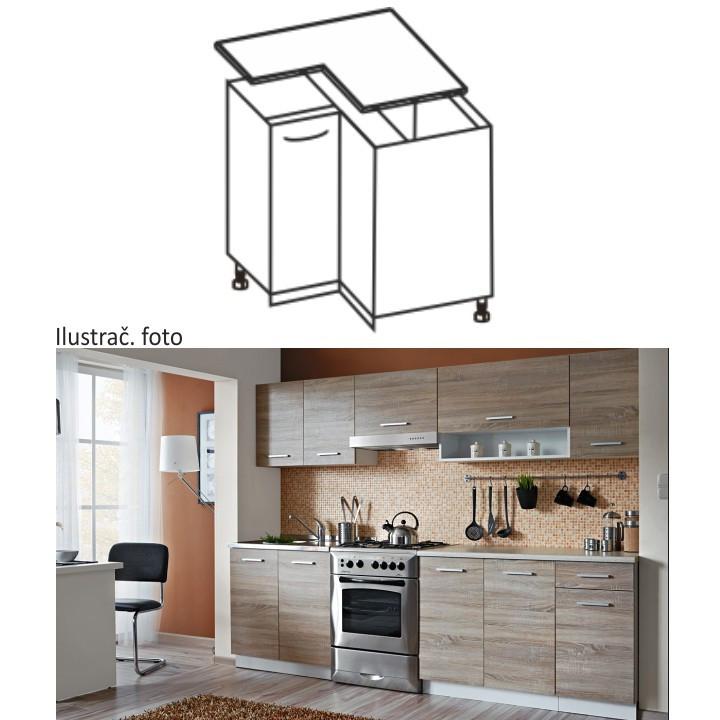 Tempo Kondela Kuchyňská skříňka CYRA NEW DN-90 + kupón KONDELA10 na okamžitou slevu 10% (kupón uplatníte v košíku)