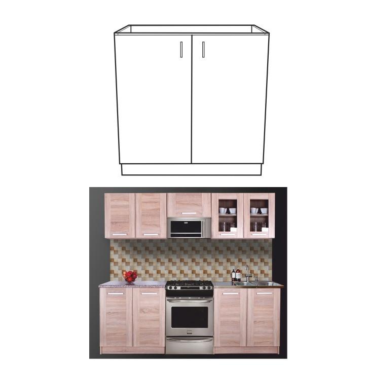 Tempo Kondela Kuchyňská skříňka NARCIS DZ-80