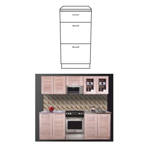 Kuchyňská skříňka NARCIS D-40 3SZ