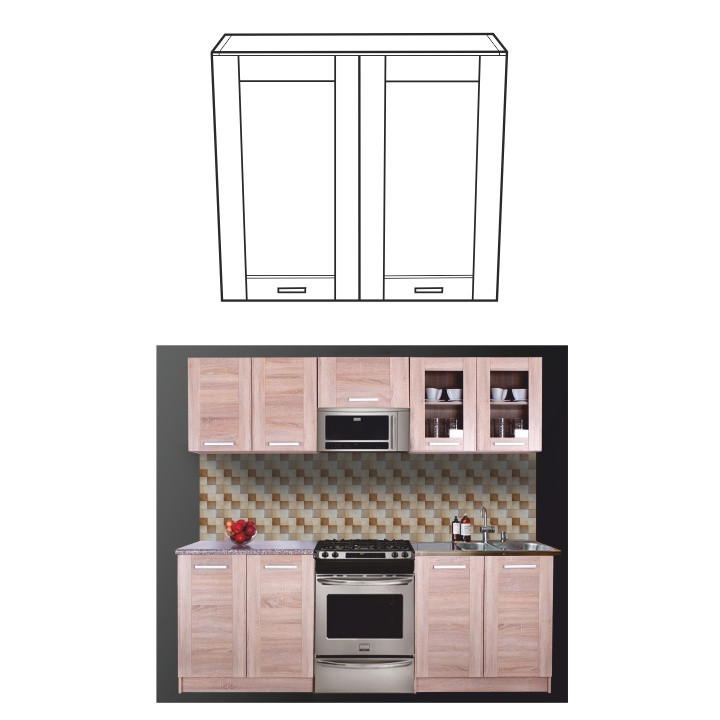Tempo Kondela Kuchyňská skříňka NARCIS GW-80
