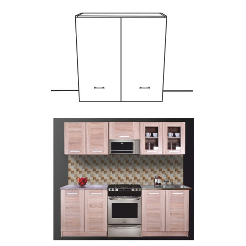 Kuchyňská skříňka NARCIS G-60