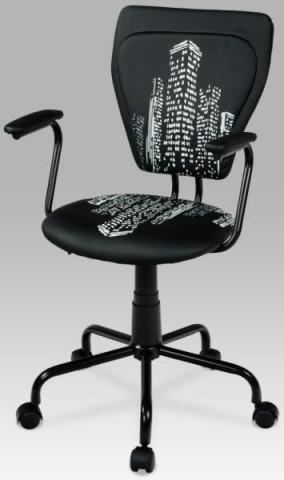 Kancelářská židle KA-T242, černá