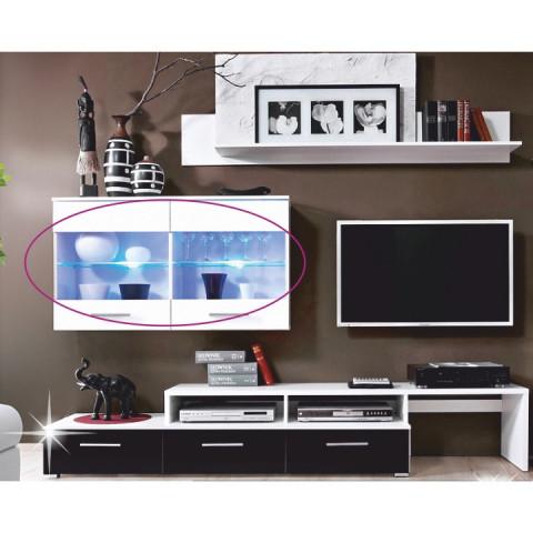 LED osvětlení k obývací stěně SARAH A MALIBU