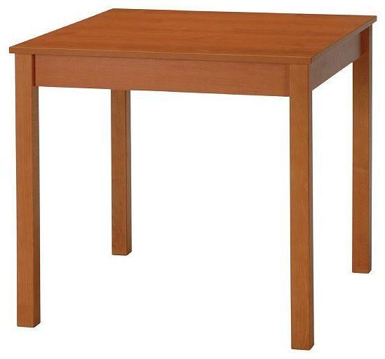 Stima Jídelní stůl Family rs rozkládací 80x80 cm/+40 cm rozklad + kupón KONDELA10 na okamžitou slevu 10% (kupón uplatníte v košíku)
