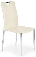 Jídelní židle K196 - Tmavě krémová