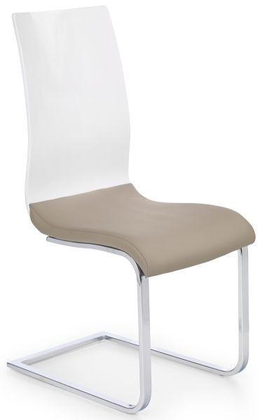 Halmar Jídelní židle K198 Bílá/černá