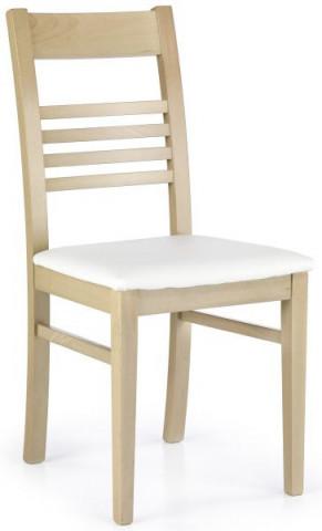 Jídelní židle Juliusz - Dub sonoma/ekokůže Madryt 121