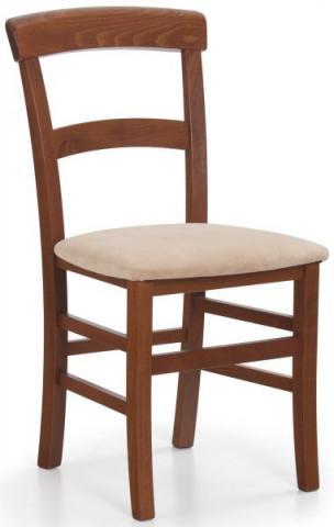 Jídelní židle Tapo - Třešeň antická/látka Sofia 25
