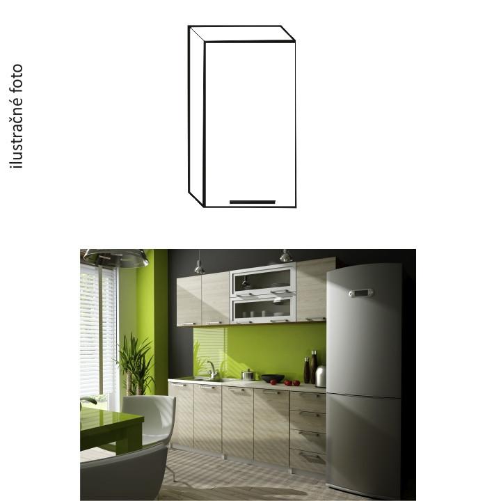 Tempo Kondela Kuchyňská skříňka IRYS G-40 - pravá