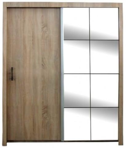 Šatní skříň Nova dub sonoma 150 cm