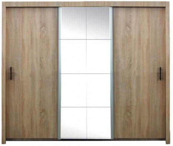 Šatní skříň Nova dub sonoma 250 cm