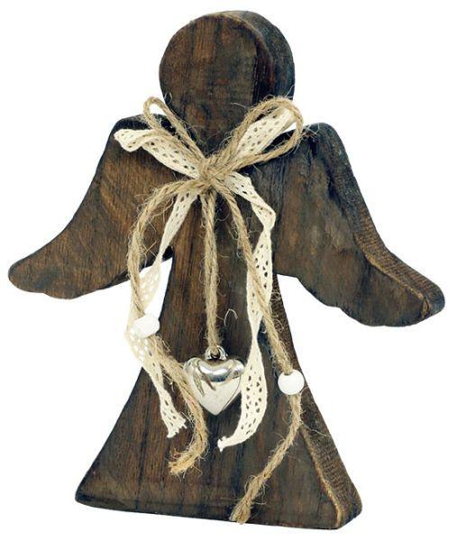 Anděl dřevěný KLA194