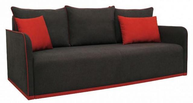 Pohovka Vico Mega - černo/červená