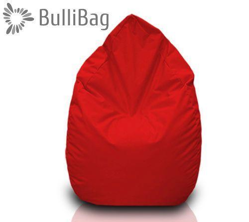 Sedací pytel Bullibag® hruška - Červená