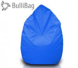Sedací pytel Bullibag® hruška - Modrá