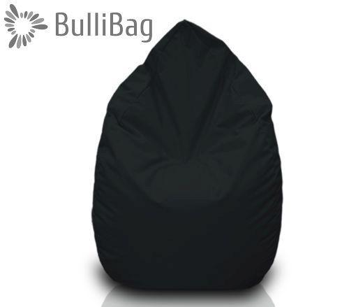 Sedací pytel Bullibag® hruška - Černá