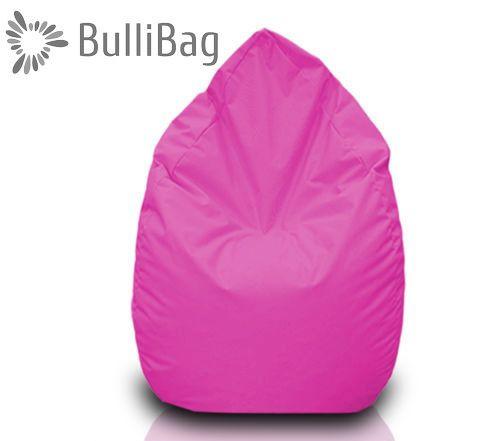Sedací pytel Bullibag® hruška - Růžová