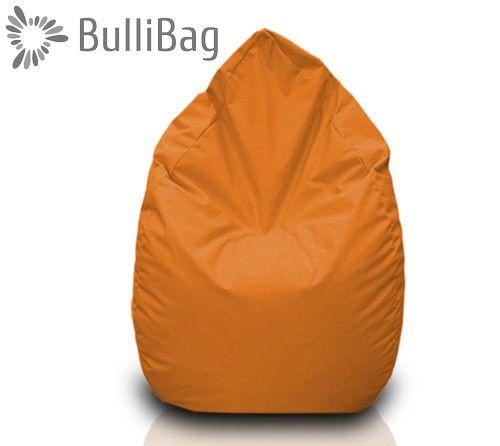 Sedací pytel Bullibag® hruška - Oranžová